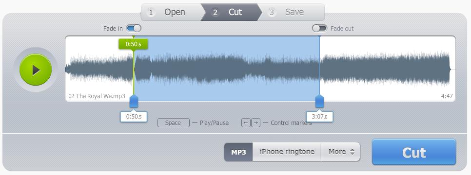Taglia Audio Online